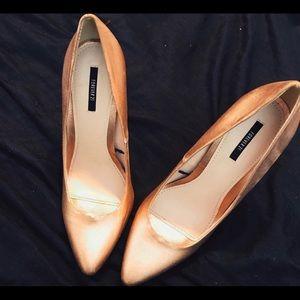 Copper forever 21 size 10 heel